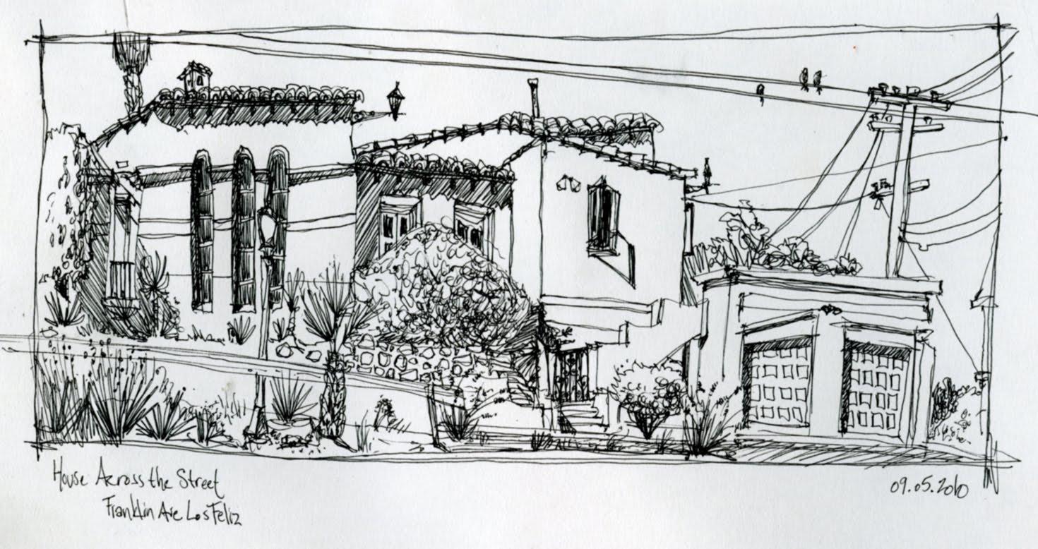 Weekend sketch in los feliz