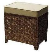 ottoman furniture perfect wicker storage ottomans
