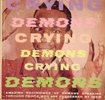 funny demons crying weird cover