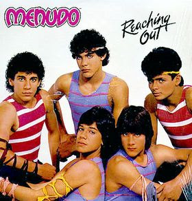 funny album covers menudo reaching out cover photo spanish new kids on the block