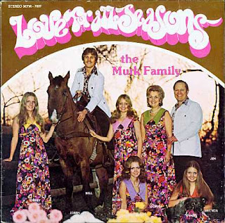 funny album cover photos murk family love for all seasons not the partridge family