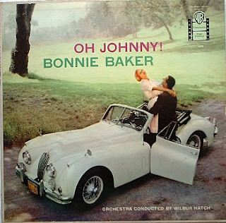 funny worst album covers bonnie baker yelling oh johhny with orchestra very wrong photo