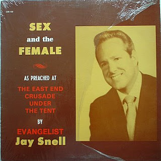 really funny album cover about sex and the female from evangelist jay snell
