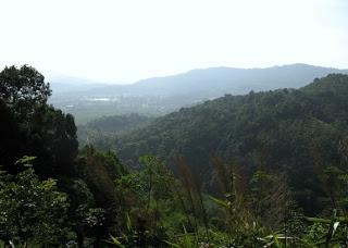 View over Kathu area, Phuket