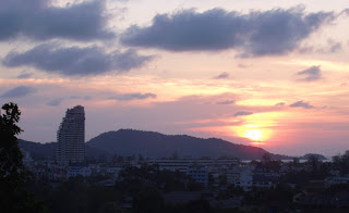Sunset in Patong, 17th February 2007