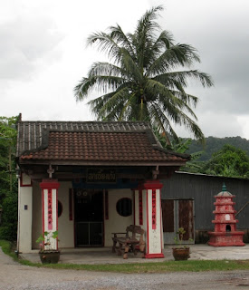 Small chinese shrine in Kathu Village
