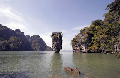 View of Koh Tapu from James Bond Island