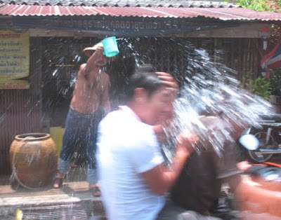 Songkran (photo by Jamie, 2008 in Phuket Town)