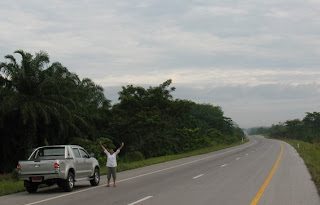 Road from Krabi to Surat Thani