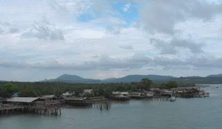 View from Sarasin Bridge, Phuket, 6th May