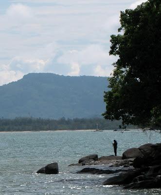 Fishing, Koh Sirey, 25th May