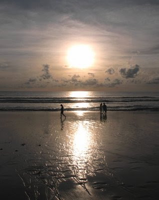 Sunset at Karon Beach, 21st July 2008
