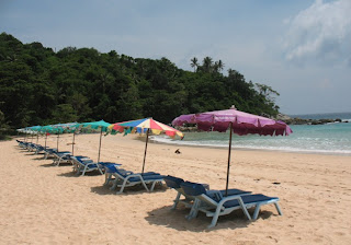 Not very crowded -Kata Noi Beach, Phuket