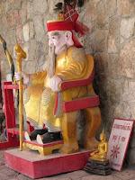 Inside Karon Plaza temple