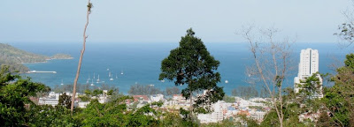 View from back road in Patong near Phuket 91.5 FM