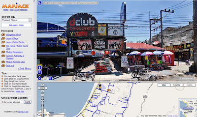 Soi Bangla, Patong, Phuket on MapJack