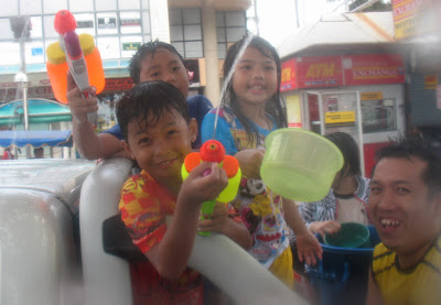 Songkran 2009 in Patong - Fun for all the family!
