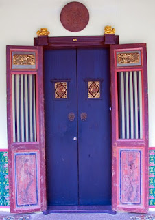 Door in old Phuket Town