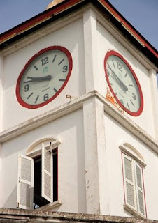 Clock tower in Phuket Town