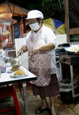 Phad Thai stall