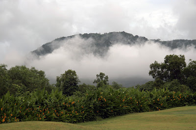 Clouds around the hills, Phuket, 15th September