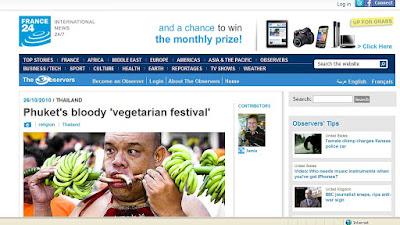 Screenshot from France24 website
