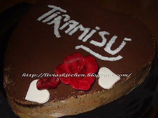"Articole culinare : Tort ""Inima de Tiramisu"""