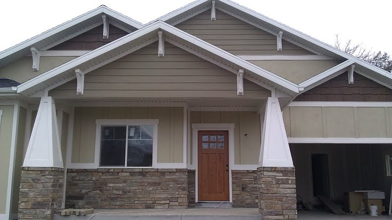 Stucco tech volkommen provo craftsman for Houses with stucco and siding