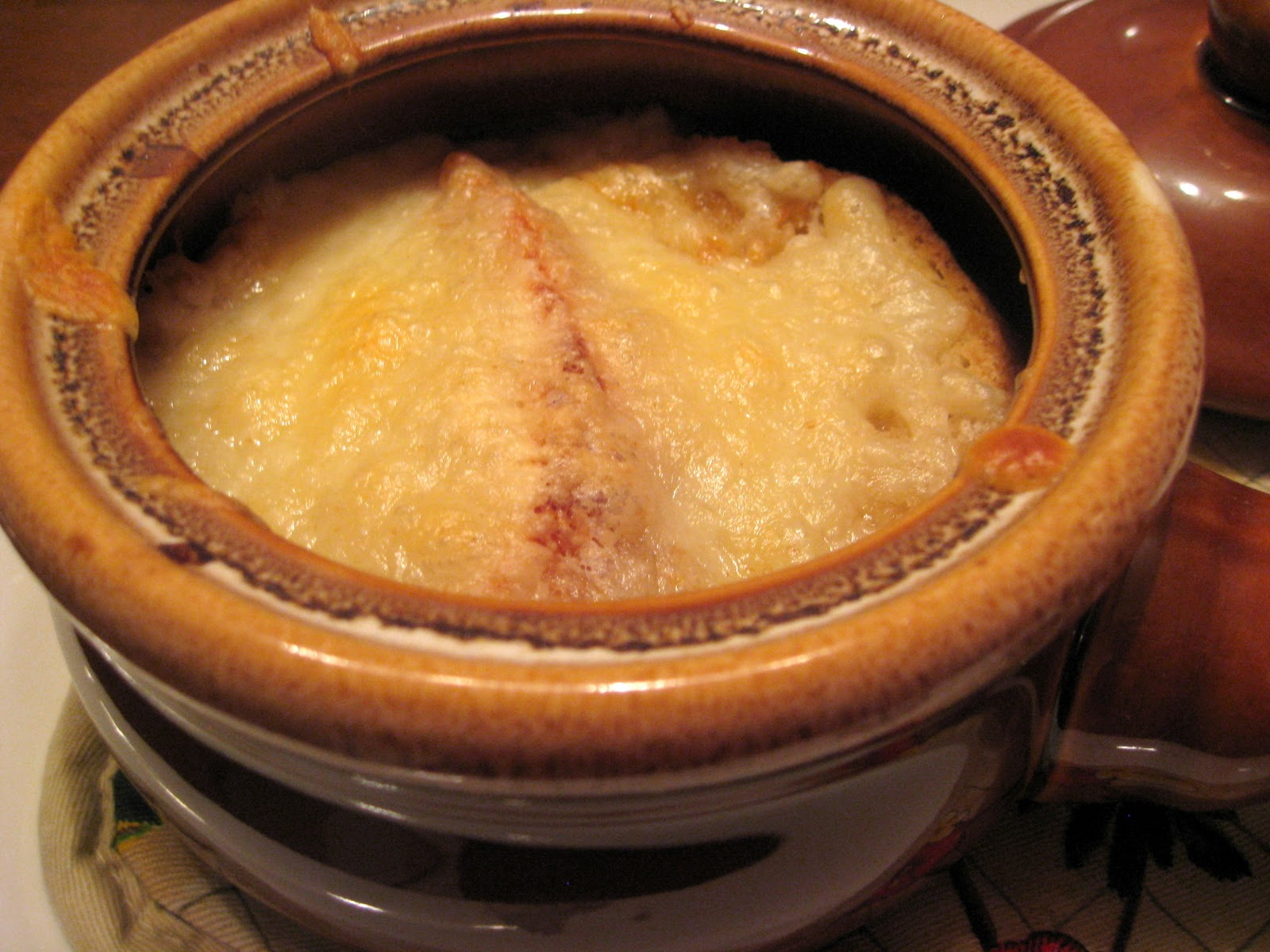 You, Miss, Are No Lady: Onion and Bacon Soup