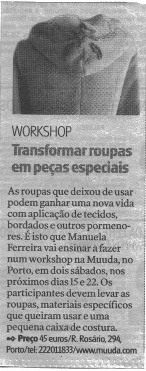 WORKSHOP NA MUUDA