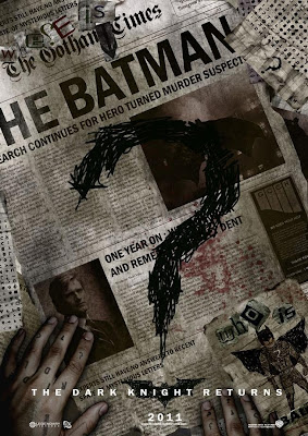 Dark Knight Returns Movie Poster
