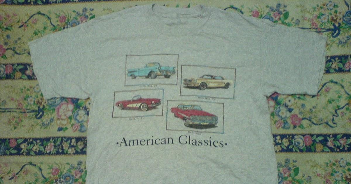 PLANET VINTAGE: T-shirt American Classics Car (SOLD)