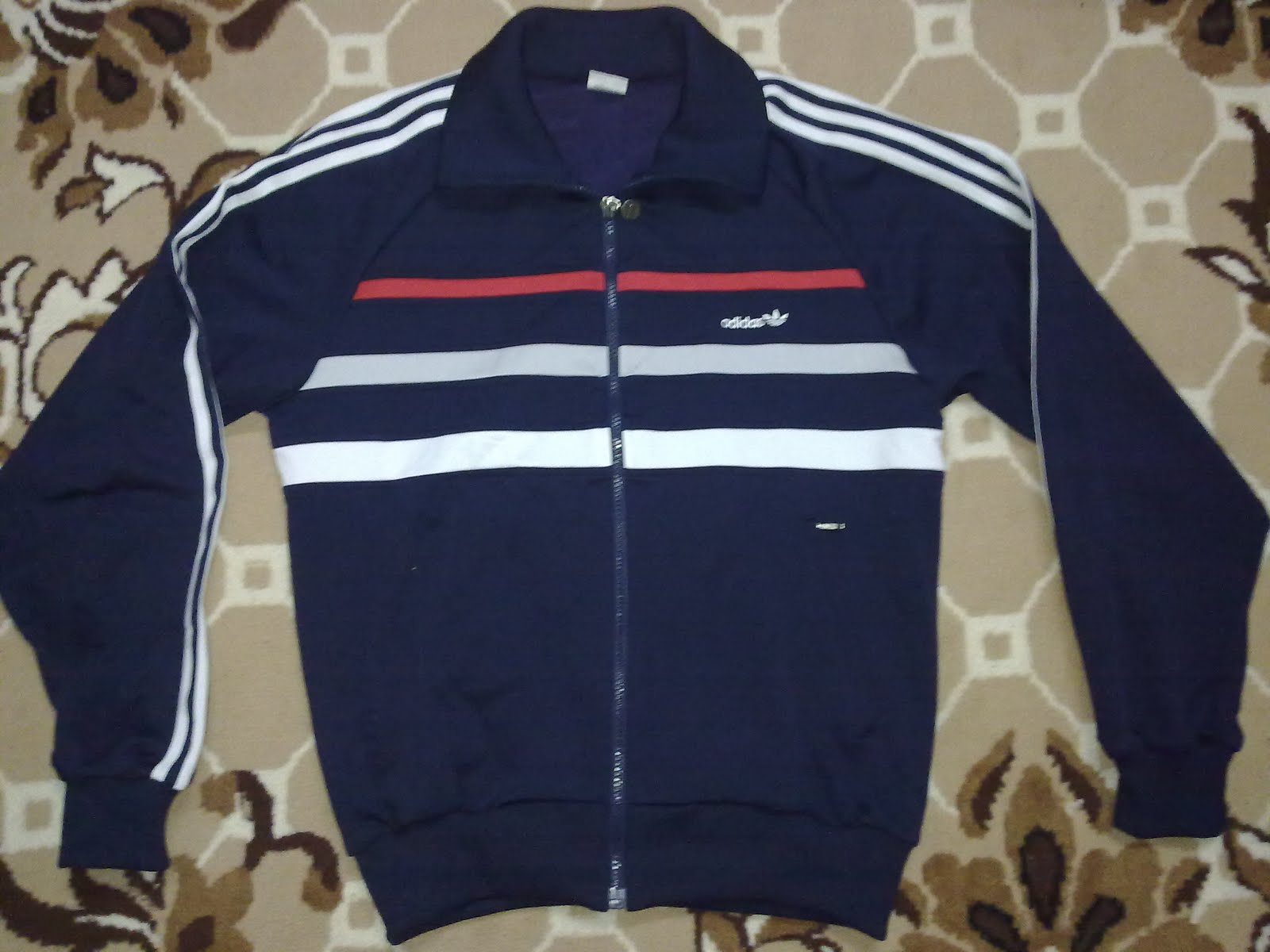 Planet Vintage Sweater Adidas Repro West Germany Sold Andrew Smith Stand Up Collar Jacket Hitam Xl Made In Japan