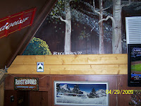 Rick Parks Mount Charleston Lodge Mural signature
