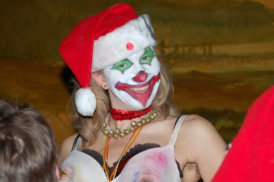 …and gay punk rock clown fetishes: