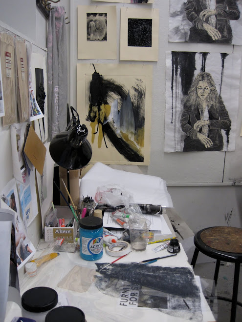 the crazy state of my studio during FINALS!