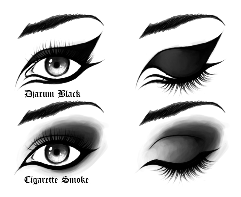 goth makeup for men. goth makeup styles. goth