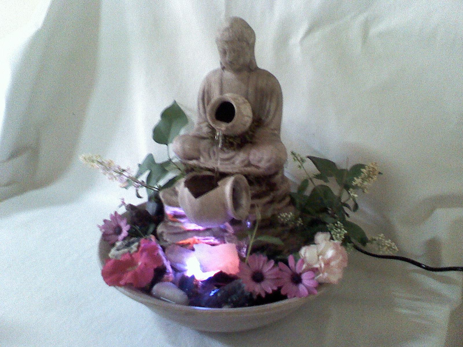 Esa Luz: Fuentes De Agua Con Luz\