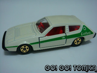Great Tomica Lotus Elite, Scale: 1/63 (Made In Japan)