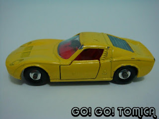 Go Go Tomica Tomica Lamborghini Miura Vs Lesney Lamborghini Miura