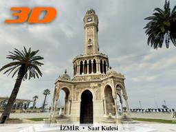 İzmir Saat Kulesi'nin 3D Sanal Turu