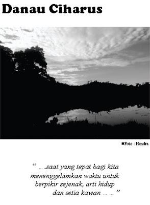 Foto Catatan Perjalanan Danau Ciharus