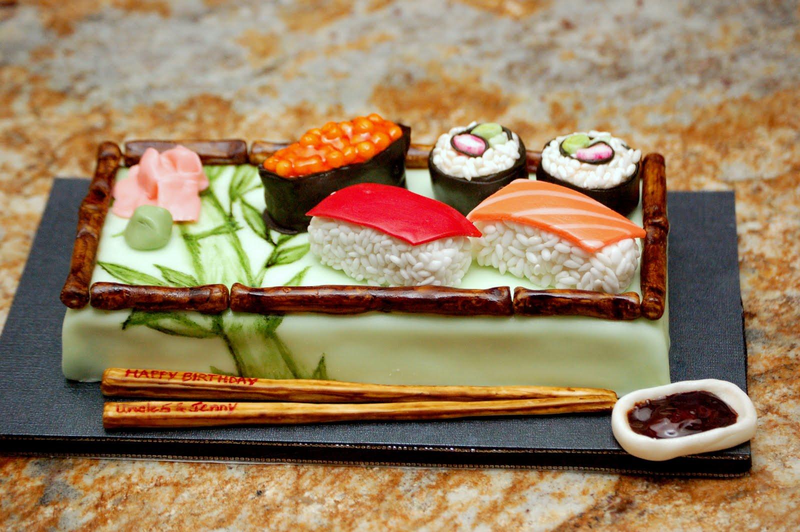 Cakes by Tatiana: Sushi Cake