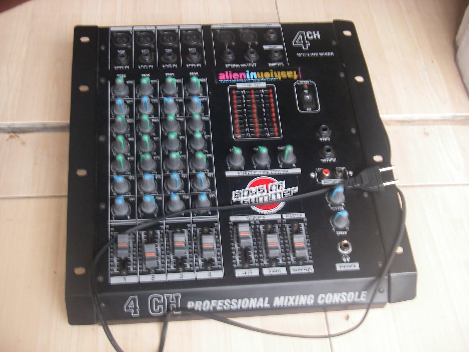 The Hardzooshops Jual Mixer Audio 4 Sampai Dengan 24
