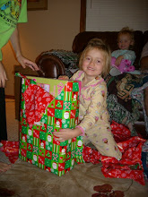 Megan was so happy with what Santa brought her!