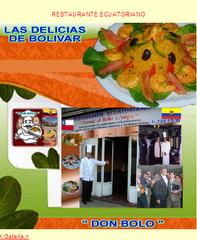 DON BOLO, Restaurante Ecuatoriano