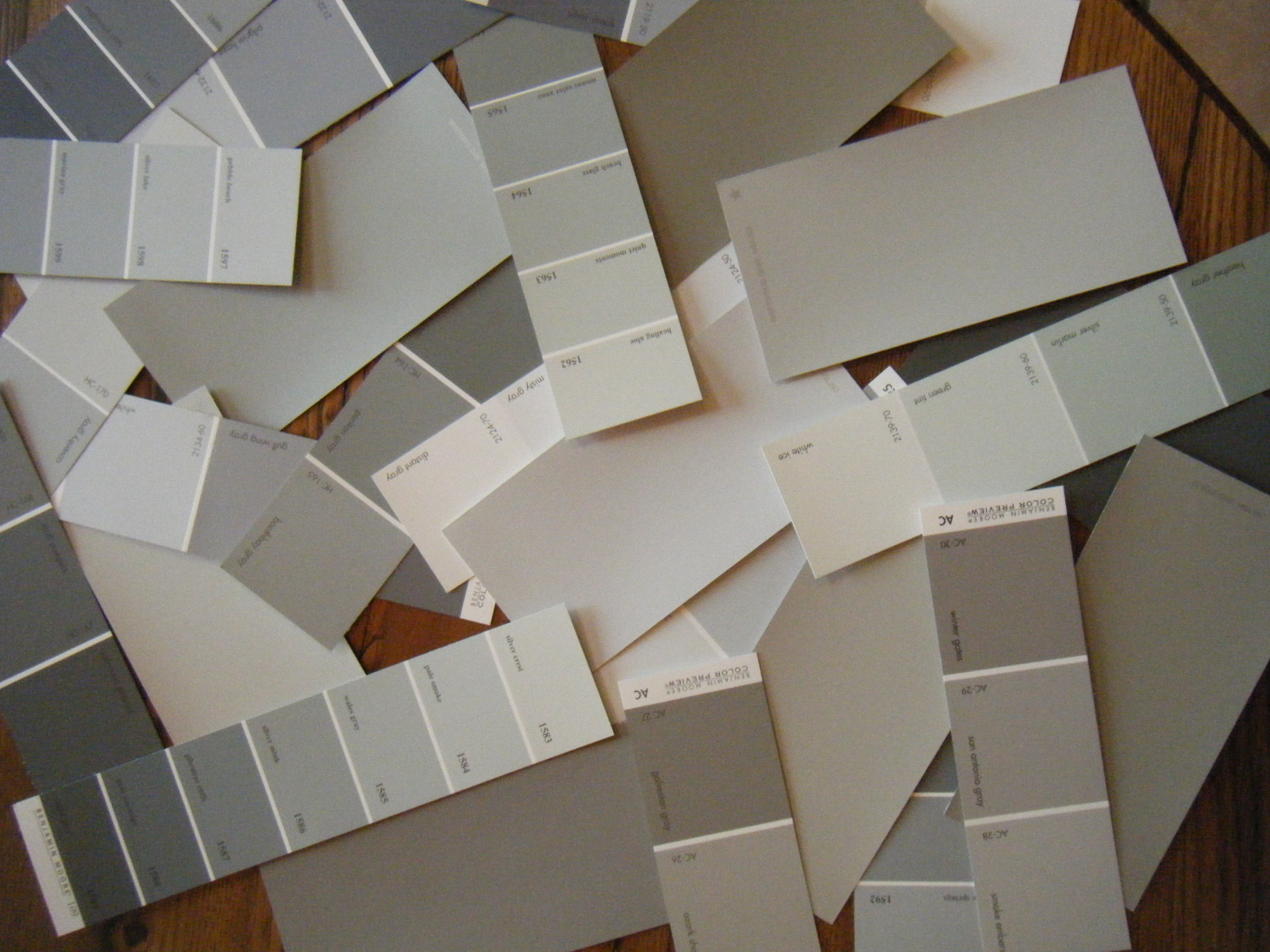 White is white black is black and gray is everything in for Neutral light grey paint