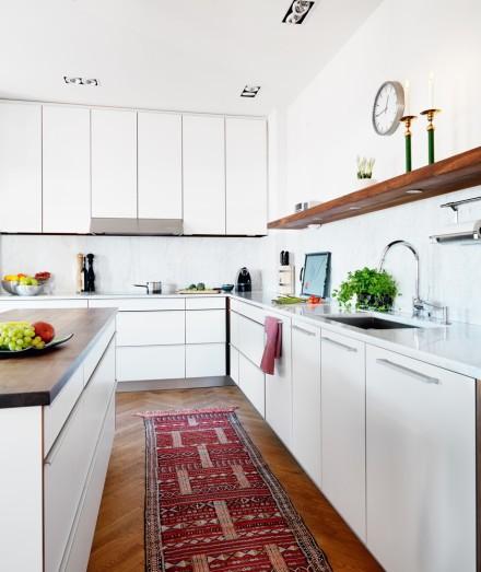 Warming Up A White Kitchen