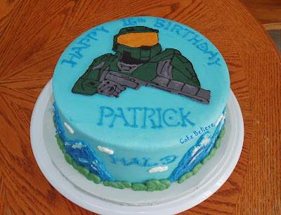 Cake Believe HALO