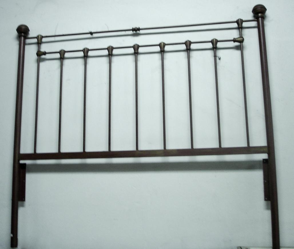 Sillaamericana beta test cabezales de cama hierro patinado - Cabezales para cama ...